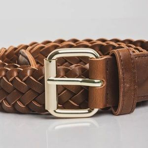 Obey Gentry Braided Leather Belt